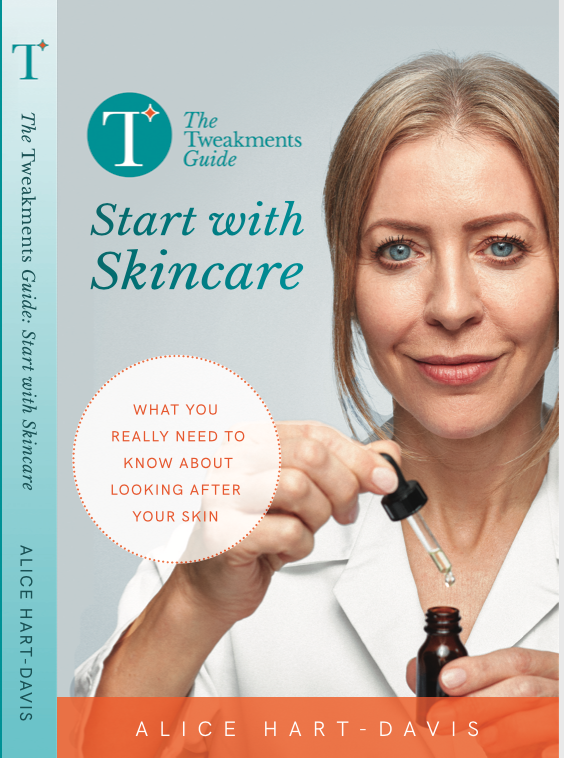 Here's my new book – and it's all about skincare