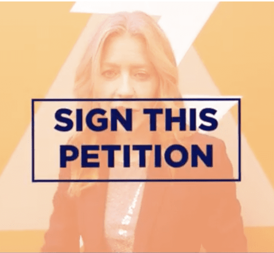 For safety's sake – sign this petition