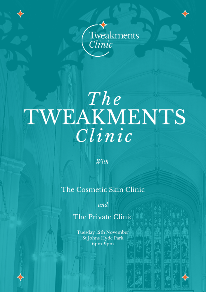 Announcing: The Tweakments Clinic